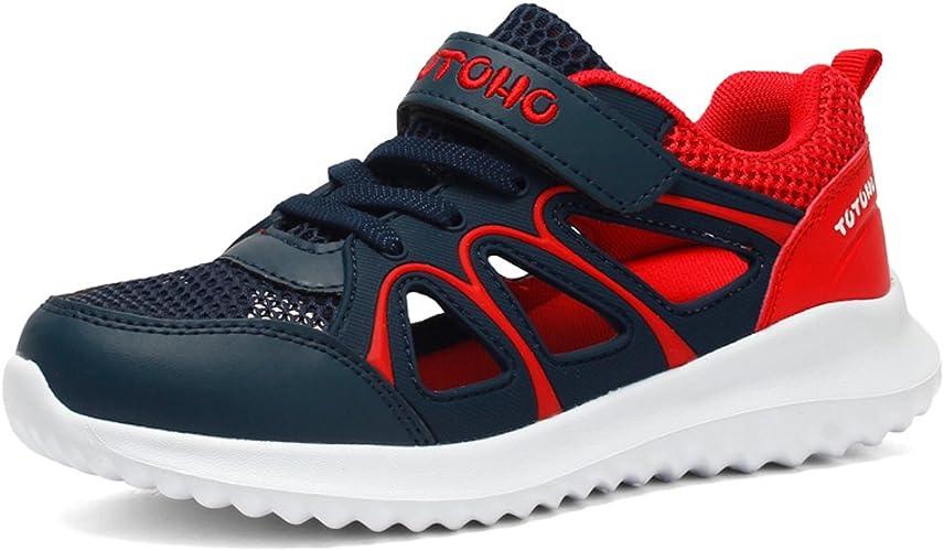 Zapatillas de Deporte Niño Verano Sandalias de Vestir para Niña Zapatillas de Running Respirable Sandalias de Playa Deportivas Ligero Zapatos Azul Oscuro 27 EU: Amazon.es: Zapatos y complementos