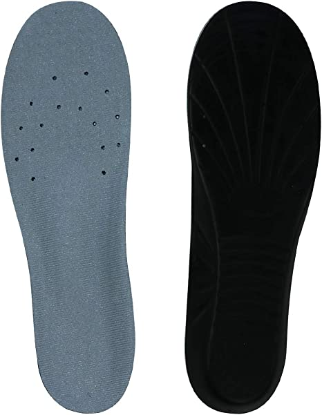Unisex Deodorant Shoes Insoles Shock Absorbing Sport Insert Soles Pad Breathable