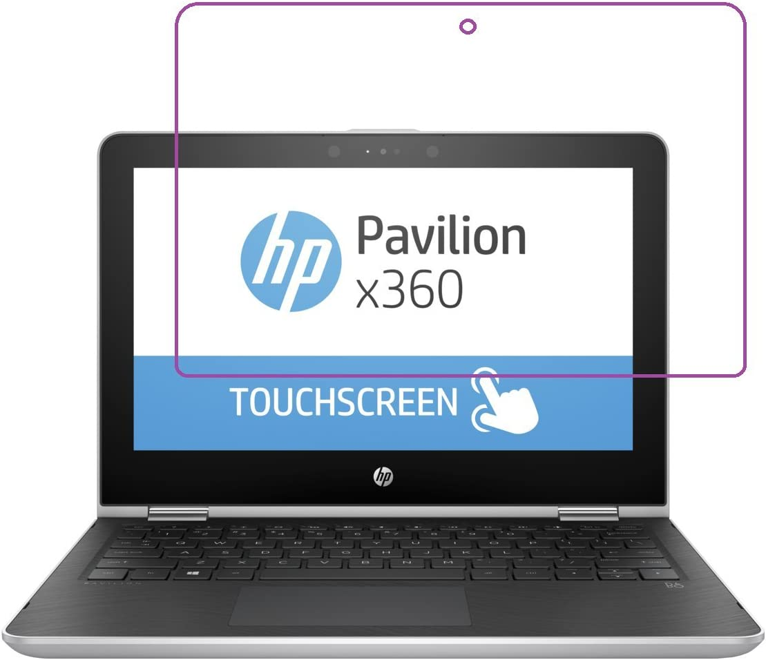 """It3 HD Clear (2X Pcs) Screen Protector for 11.6"""" HP Pavilion x360 11 Convertible Touch Screen (2018)"""