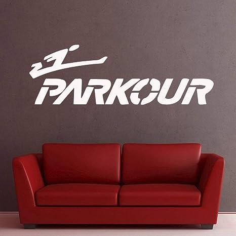 Parkour Lovers Stickers Pvc Stickers de pared Wall Art ...