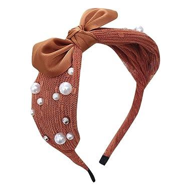 Pailletten Verknotet Stirnband Mode Frauen Haarband Haarreif Zubehör Haarschmuck
