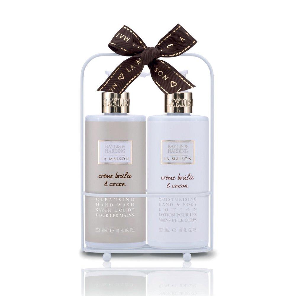 Baylis & Harding La Maison - Crème Brulee & Cocoa Hand Wash & Hand Lotion Set LMCB172BTL