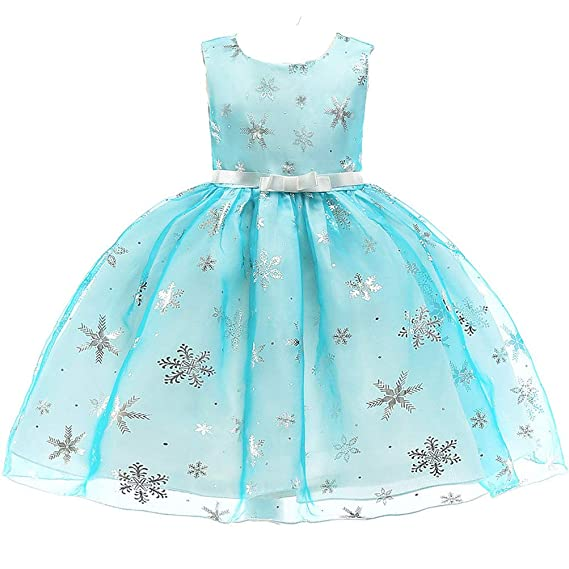 a84b2846f244d Amazon.co.jp: (フォーペンド)Forpend 子供ドレス 雪の花 キッズ ...