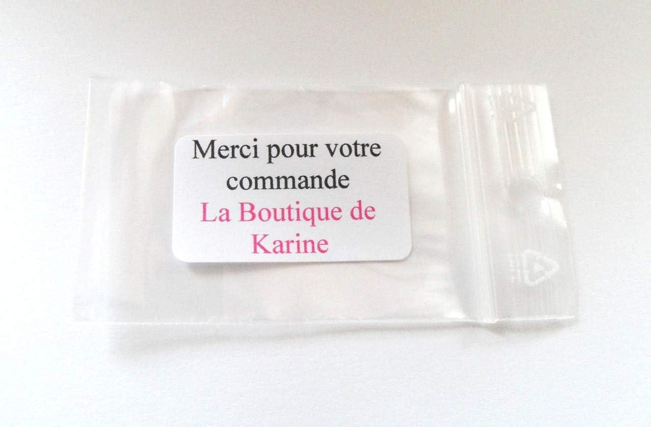 LA BOUTIQUE DE KARINE Lot 15 BELIERES Attache Pendentif Metal CUIVRE 6 x 19 mm Cr/éation Perles Livraison Gratuite