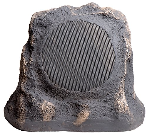 RS670 6.5-Inch 150W 2-Way High Power Outdoor Weather-Resistant Rock Speaker - OSD Audio - (Pair, Slate)
