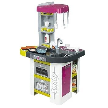 Smoby-311017 Cocina Studio Bubble y Barbacoa, Color Morado, (311017): Amazon.es: Juguetes y juegos