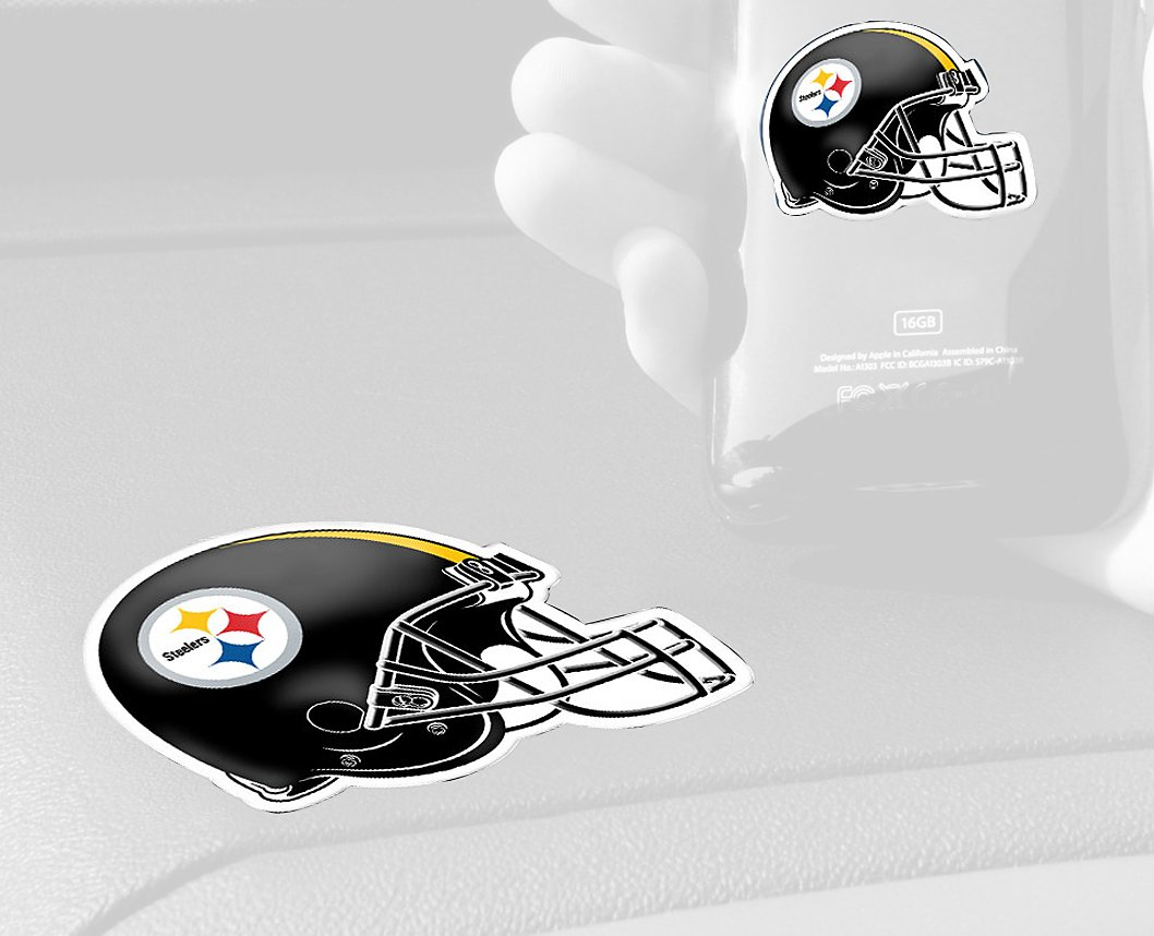 FANMATS NFL Pittsburgh Steelers Plastic GetaGrip