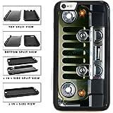 BleuReign(TM) SUV Car Bumper Grill 2-Piece Dual Layer Phone Case Back