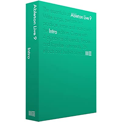 Ableton Live 9 Intro - Software de edición de audio/música (3072 MB, 2048 MB, XGA, 1 usuario(s), AIFF, FLAC, MP3, OGG, WAV, AIFF, FLAC, MP3, OGG, WAV)