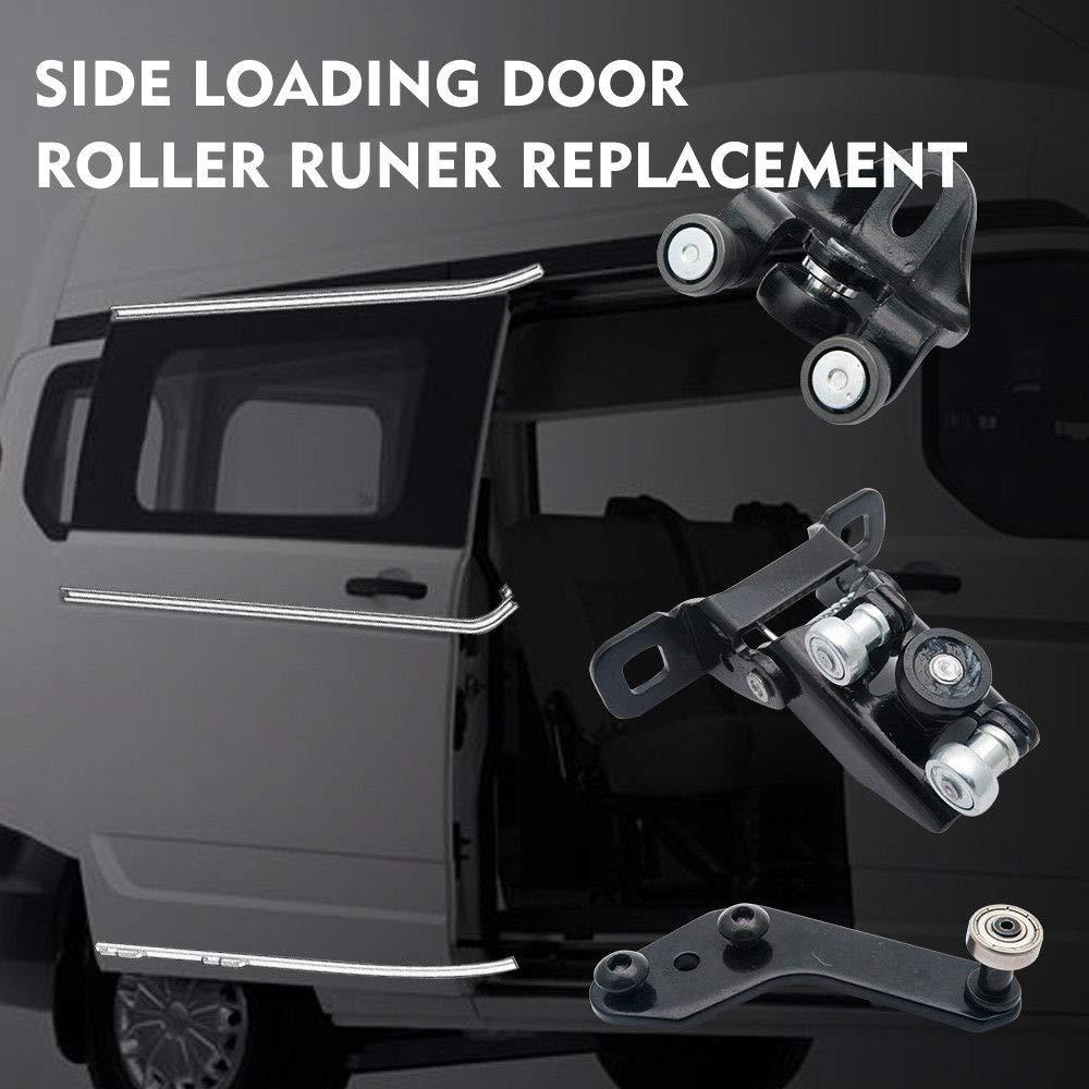 Car Left Side Sliding Door Middle Roller Runner Guide Fit Ford Transit MK6 MK7