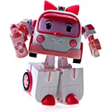 Deluxe Robocar Poli Toy - Amber (Transformer) - Special Limited Edition