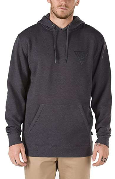 17cbfa6db10f82 Vans Shoes Mens Classic Side Stripe Hoodie Sweatshirt Medium   Asphalt  Heather
