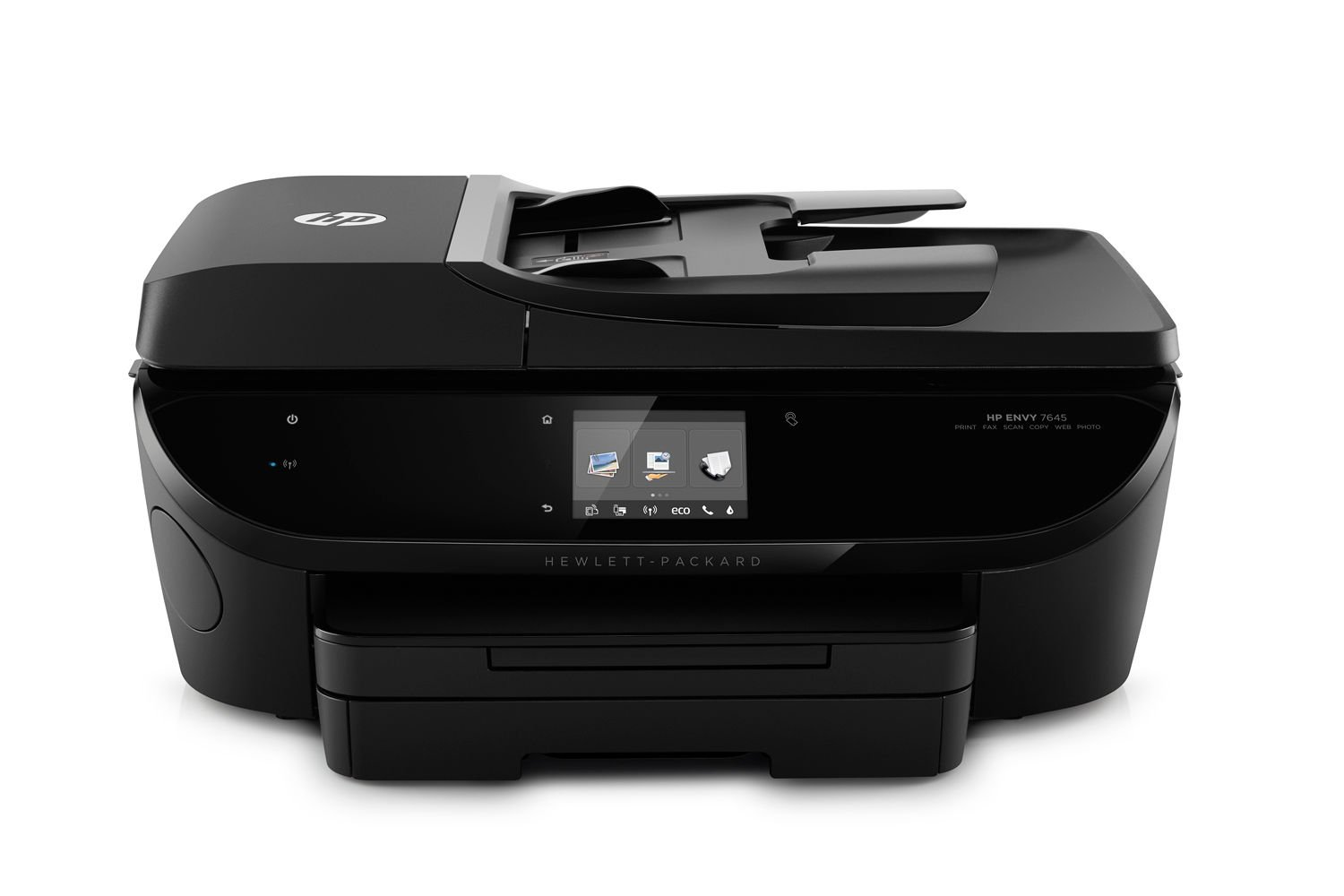 HP Envy 7645 e-All-in-One Color Inkjet Printer, Copier & Scanner - Black (Certified Refurbished)