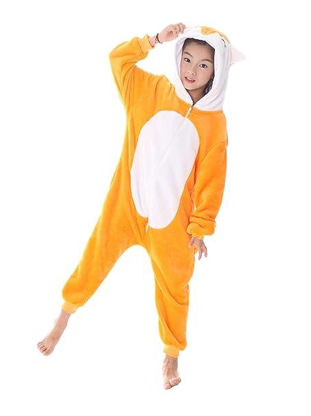 UMIPUBO Pijama Animal Niña Unisexo Cosplay Traje Disfraz Niña Animal Pijamas  Onesies Ropa de Dormir Halloween y Navidad  Amazon.es  Ropa y accesorios ad7930291bf2
