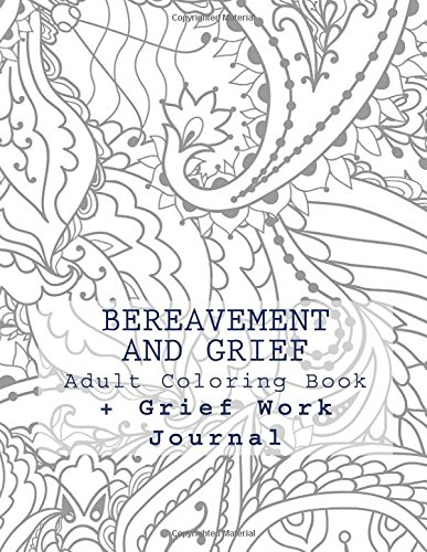 Amazon Bereavement And Grief Adult Coloring Book Work Journal 9781534610521 JC Grace Books