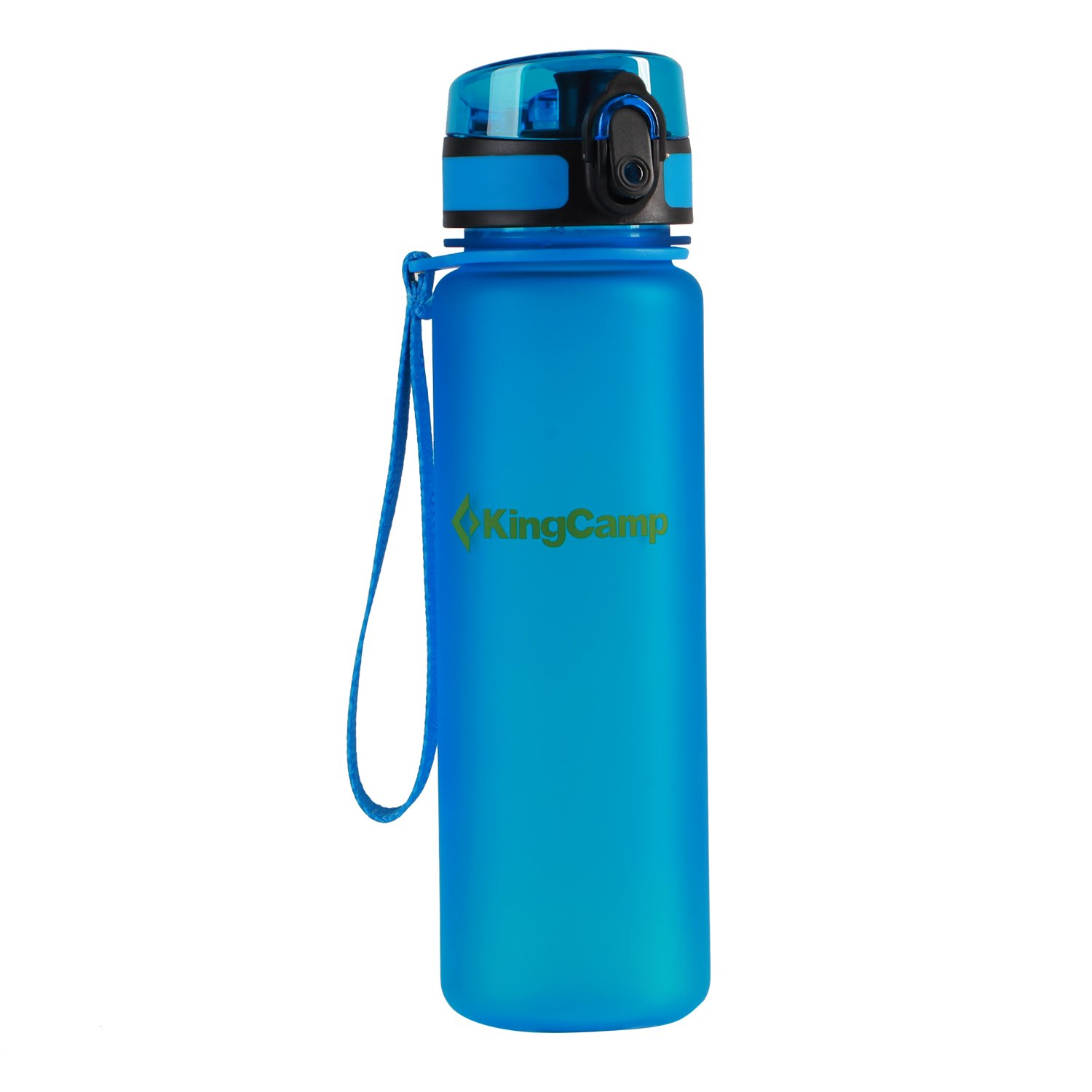 KingCamp 17.7oz / 500ml TRITAN Royal Blue Wide Mouth Sports Water Bottle