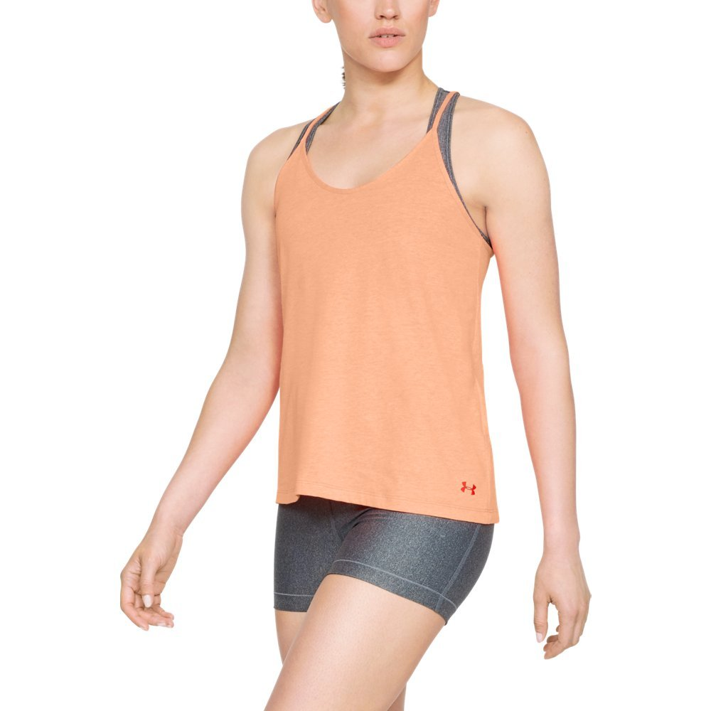 Under Armour Women's Solid Fashion Tank