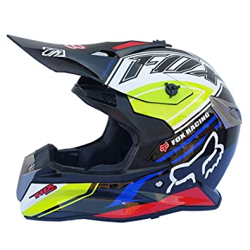 LOLIVEVE Casco De La Motocicleta De Cross Country Casco De La Pedalera De Racing Racing Off