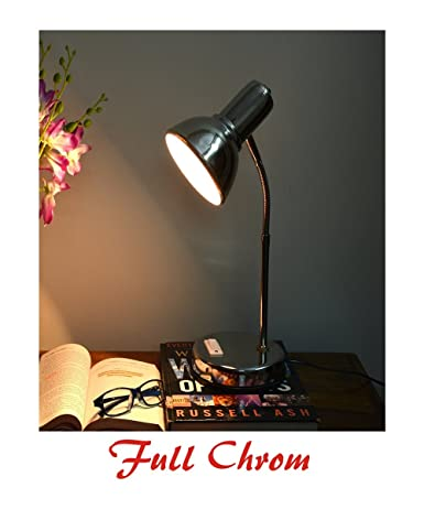 ec278a24b Buy HELICON Table Lamp- (Strong Stainless Steel Body)- Office Use study  Lamp desk Lamp reading working Light Online at Low Prices in India -  Amazon.in