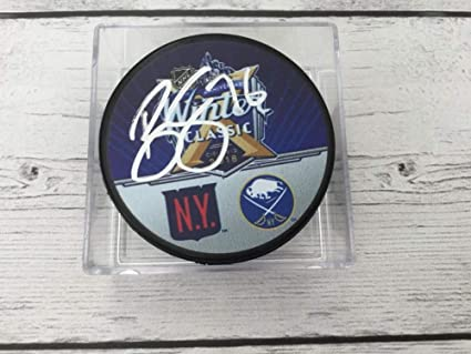 Signed Brady Skjei Signed 2018 Winter Classic Puck Ny New York Rangers A 80cbcc682