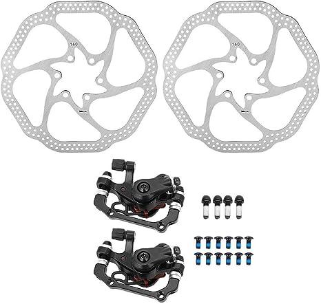 VGBEY Juego de Frenos de Disco para Bicicleta, Sistema de Freno de ...