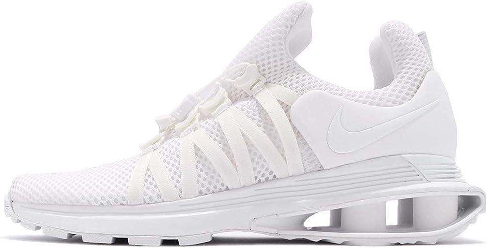 Nike Women's WMNS Shox Gravity, WhiteWhite White, 10 US