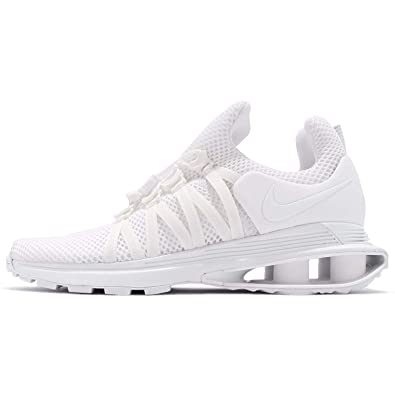 premium selection 586d1 2e72e Amazon.com   Nike Womens WMNS Shox Gravity, White White-White, 10.5 M US    Road Running