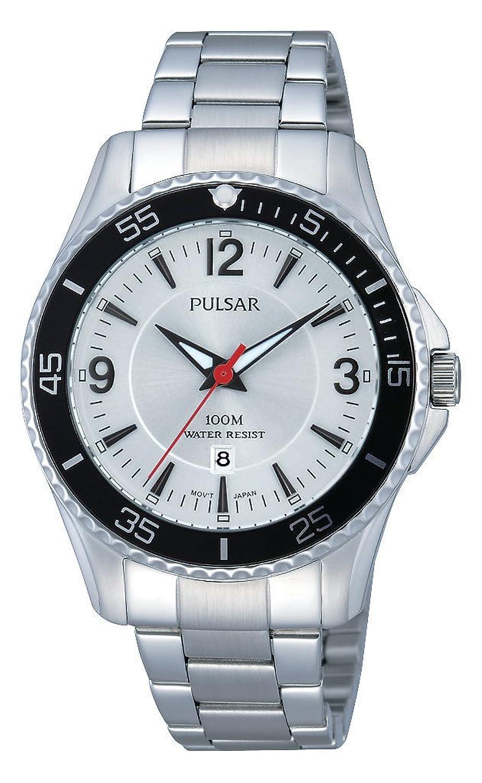 Pulsar Damen-Armbanduhr XS Sport Analog Quarz Edelstahl PH7361X1