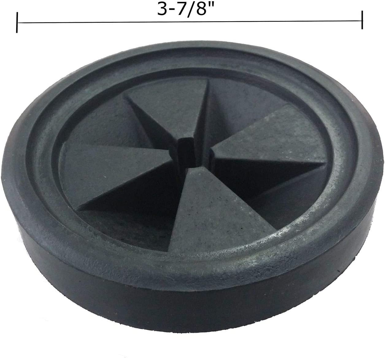 Renewed Podoy Disposal Splash Guard Garbage Stopper for Compatible with InSinkErator Black Rubber Quiet Collar Sink Baffle QCB-AM Evolution