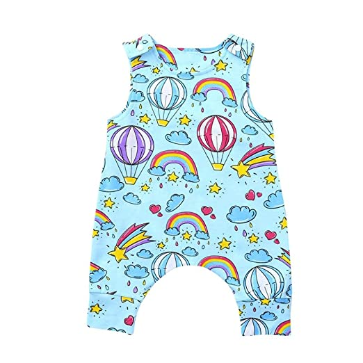 9553c0a3a Amazon.com  SUNTEAMO Cute Newborn Infant Baby Boys Girls Cartoon ...