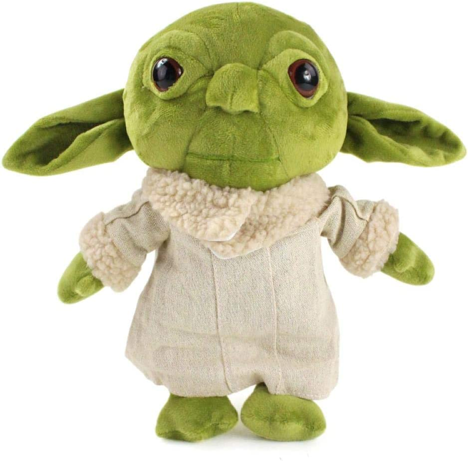 Amazon Com Baby Yoda Plush Toy 29cm Force Awakens Master Yoda Plush Doll Soft Baby Yoda Stuffed Toys Gift For Kids 29cmyoda Home Kitchen