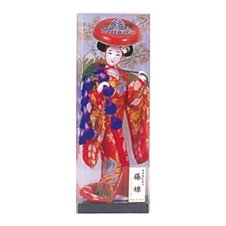 喜多村(キタムラ) 4号 をやま人形 藤娘 25.5cm OY107 B018QYXNOG25.5cm
