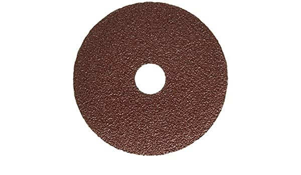 TRUPER DILI-436 Sandpaper 4-1 / 2 with fiber backing, grain 36, 5 pcs: Amazon.com: Industrial & Scientific