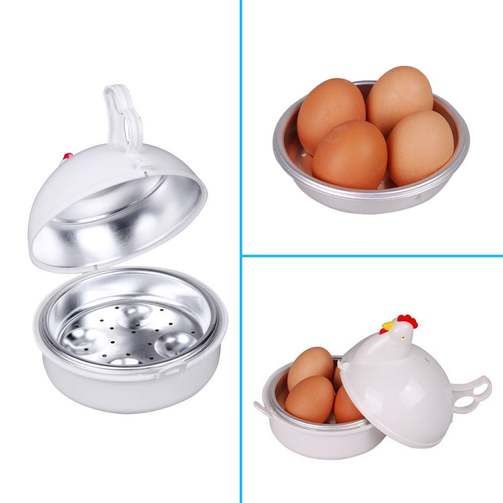 bureze microondas 4 huevos caldera Cocina Herramienta de Cocina de ...