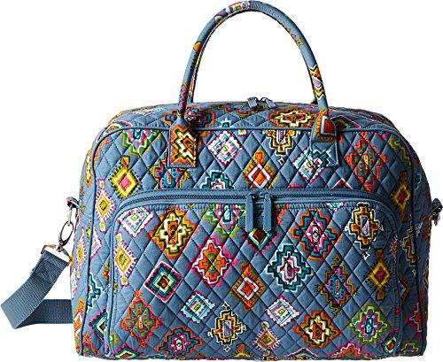 Vera Bradley Luggage Women's Weekender Painted Medallions Handbag