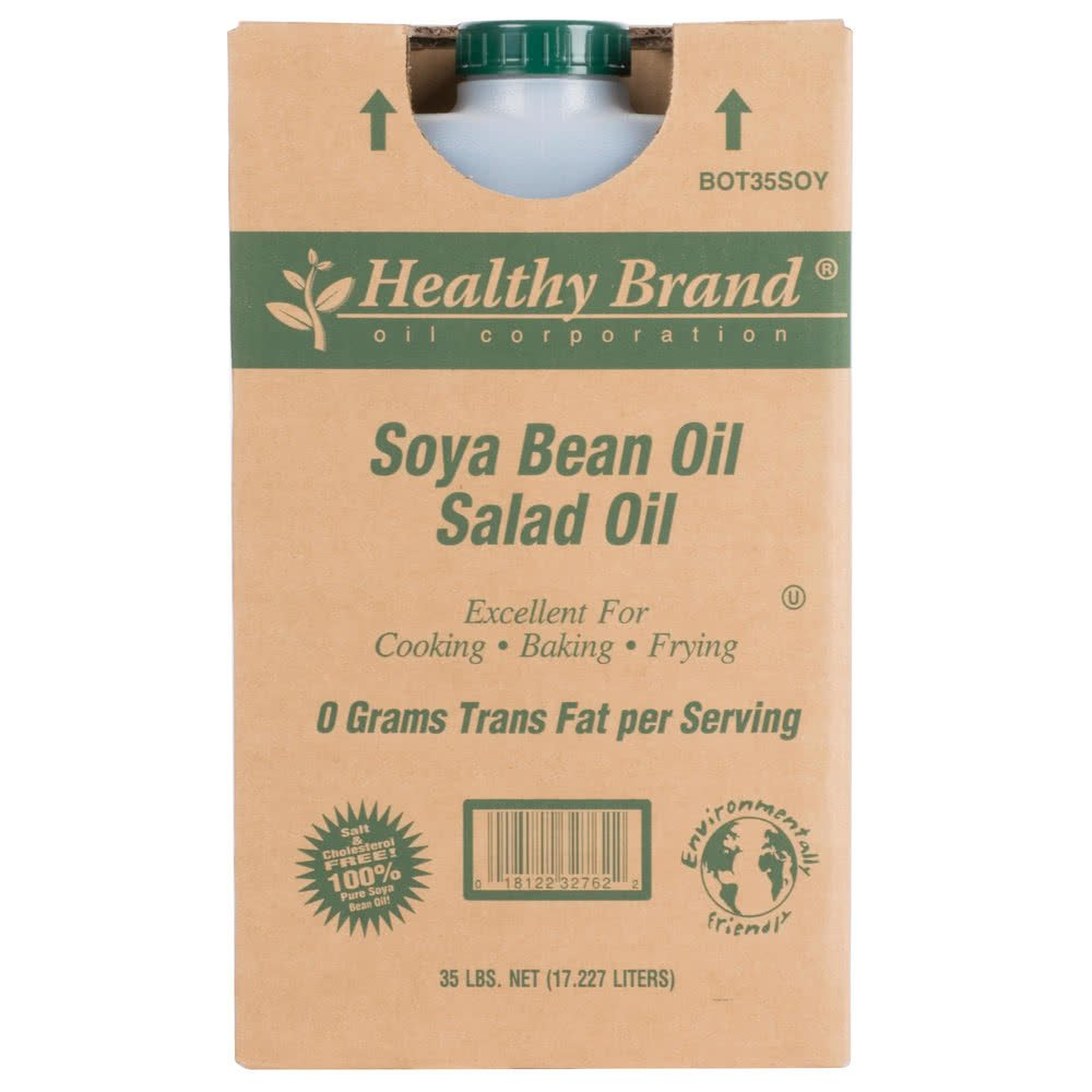 TableTop King Soya Bean Salad Oil - 35 lb.