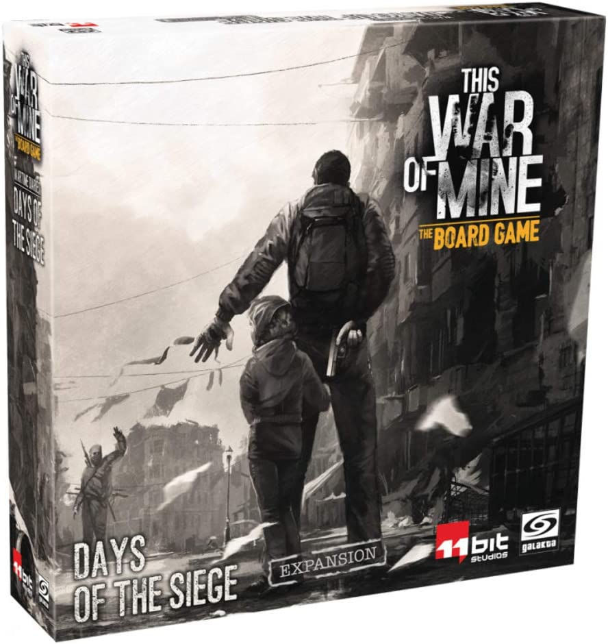 Amazon Com This War Of Mine Days Of The Siege Toys Games