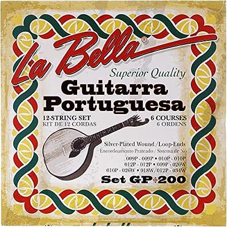 La Bella GP200 - Cuerdas para guitarra portuguesa: Amazon.es ...