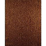 York Wallcoverings ET2067SMP Enchantment Crinkled Wallpaper Memo Sample, 8-Inch x 10-Inch, Copper Leaf