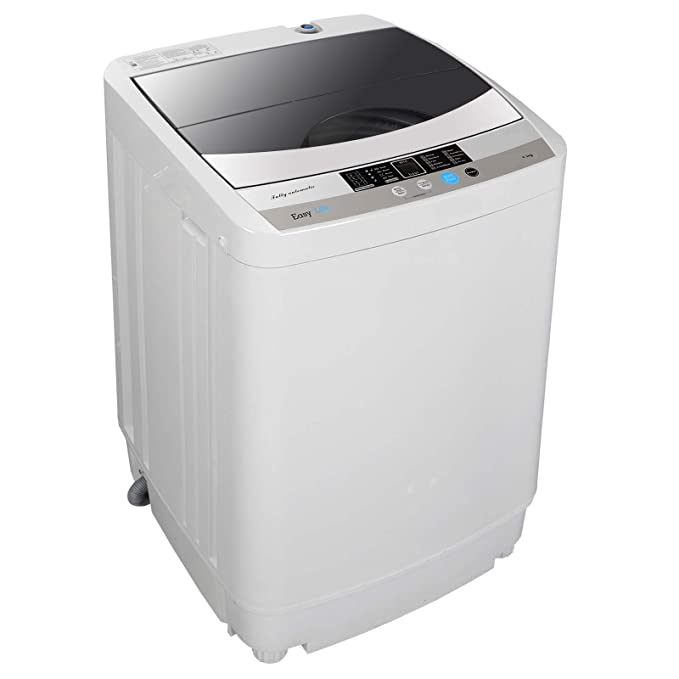 ZENSTYLE Full-Automatic Mini Multifunctional Washing Machine Portable Compact Design 10 LB Top Load Laundry Washer/Spinner w/Drain Pump, 5.74 FT Power Cord, 6.57 FT Inlet Hose best top-loading washer