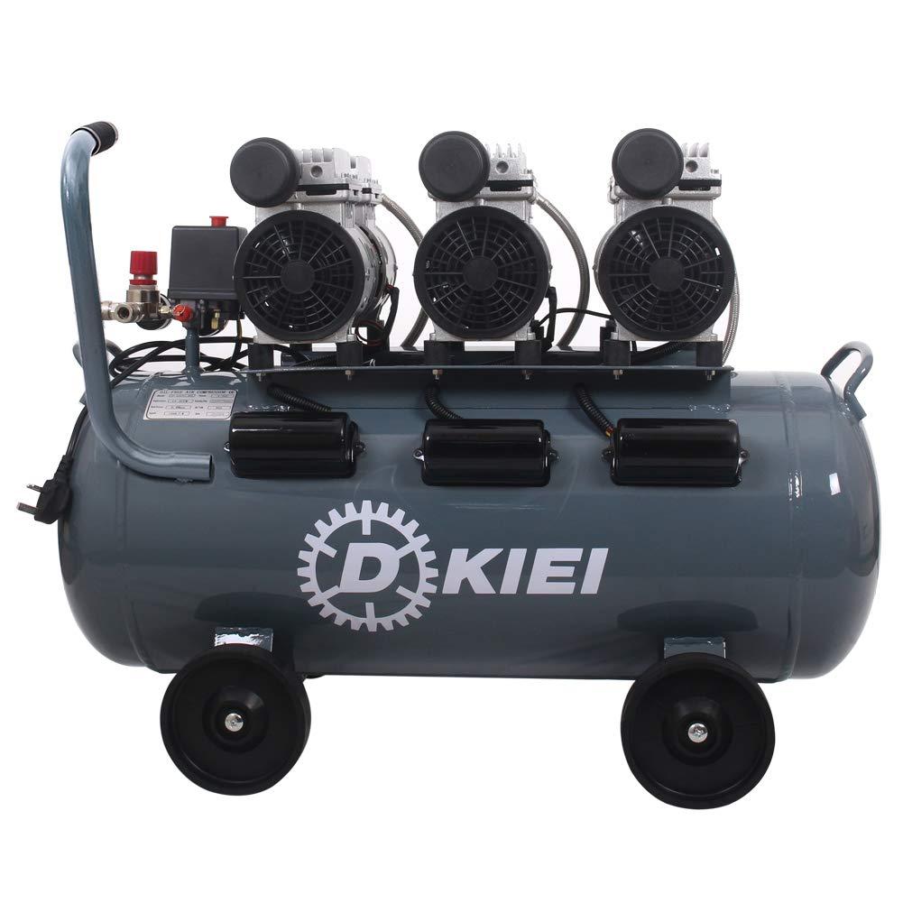 Mobile Air Compressor >> Low Noise Silent Air Compressor 80 Litre 11 2cfm 4 5hp Oil Free