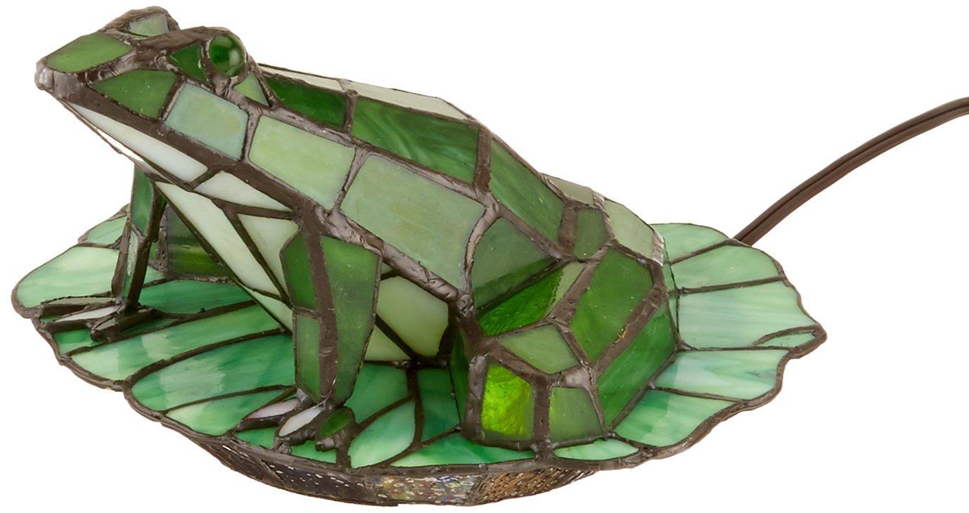 Dale Tiffany TA101231 Tiffany Frog Lily Pad Accent Lamp