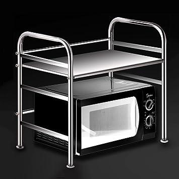 WENZHE Küchenregal Küche Ablage Regal Storage Racks Mikrowelle ...