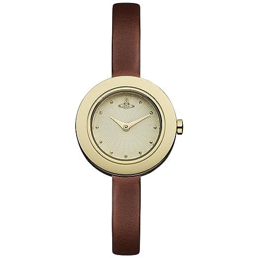 dc5702ec74c Vivienne Westwood VV097GDBR Ladies Edge Watch: Amazon.co.uk: Watches