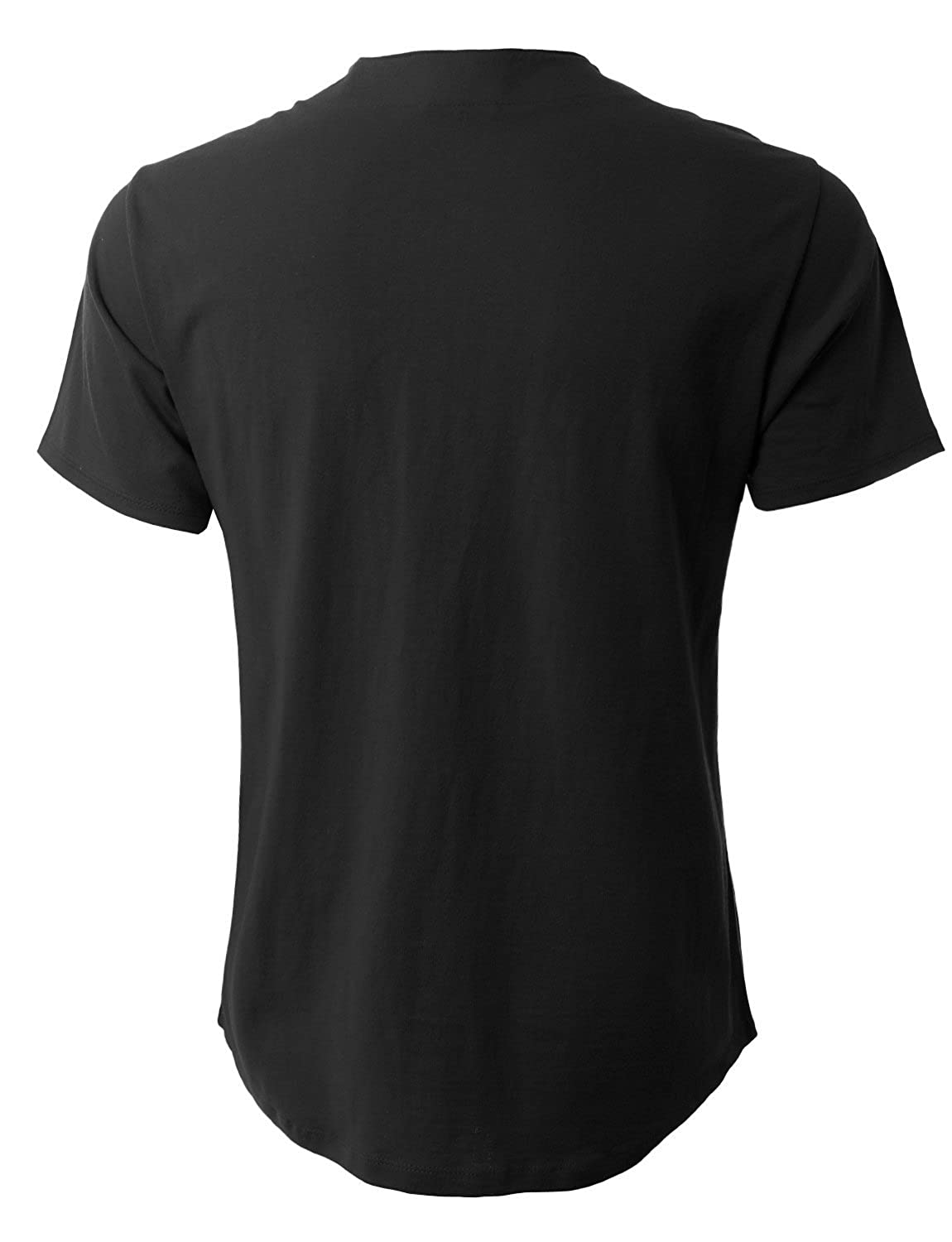 15d304cda Amazon.com: Mens Baseball Team Jersey Button Down T Shirts Plain Short  Sleeve Top: Clothing