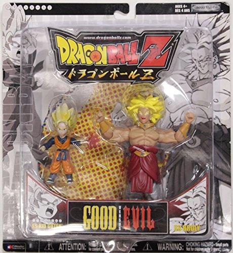 Dragonball Z ~ SS KID GOTEN vs. SS BROLY Action Figure 2-...