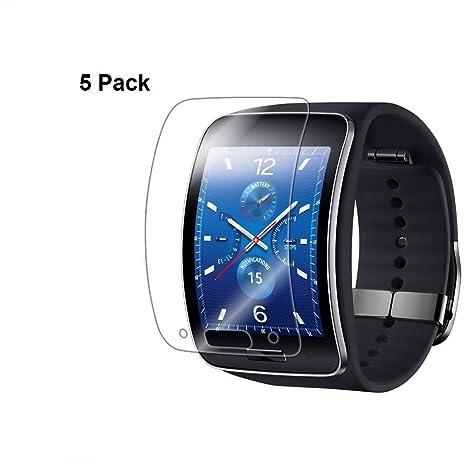 Youji® Para Samsung Galaxy Gear S PROTECTOR DE PANTALLA escudo militar invisible