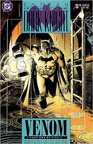 Batman Legends of the Dark Knight No.20 1991 Dennis O´Neil /& Trevor von Eeden