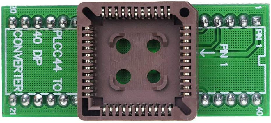 Gugutogo PLCC44 to DIP40 EZ USB Universal Programmer IC Adapter Tester Socket Module for TL866CS TL866A EZP2010 G540 SP300
