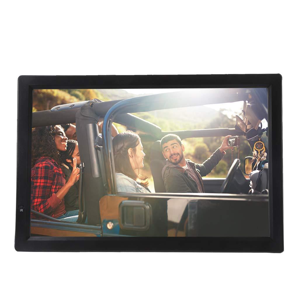 ASHATA Téléviseur Portable 14 Pouces, Téléviseur Enregistreur Portable DVB-T & DVB-T2 – Télévision Écran LCD 1080P avec Entrées/Sorties AV, Cartes SD et MMC, périphériques USB, Por